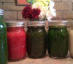 Small Fresh Juice Jars